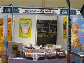 Healthy Dog Treats Stand Melbourne Dog Show