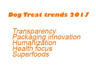 dog treat trends 2017