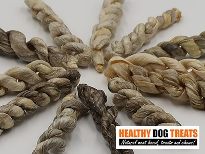 Ling fish skins dog treats