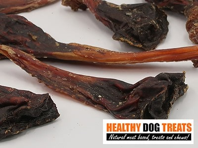 Roo tendon flat dog treats