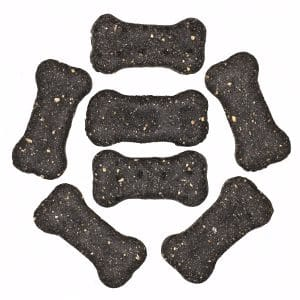 Charcoal biscuit Dog Treat