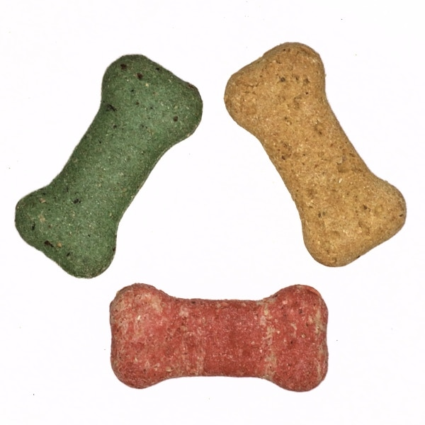 Multi dog treat biscuits Liver, cheese and mint