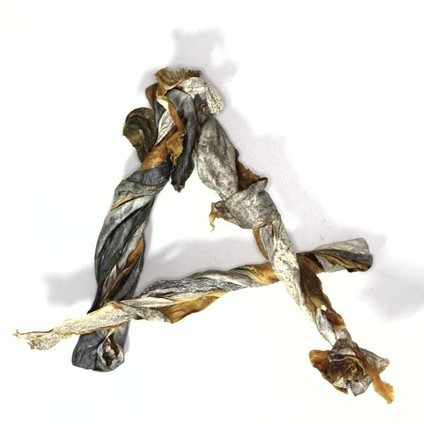 Mackerel Skin Twists Dog Treats Australian