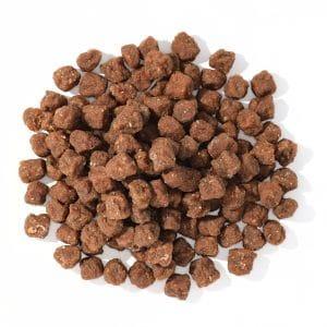 Kangaroo meat balls dog treats